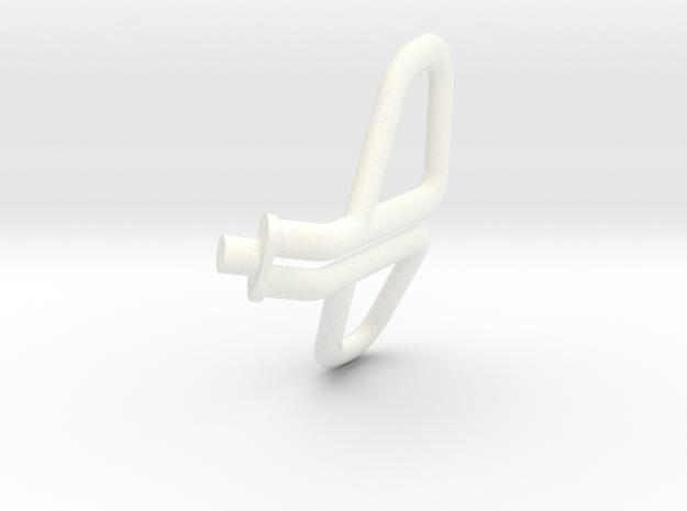 1.7 SU27 / SU30 POIGNEE EJECTION in White Processed Versatile Plastic