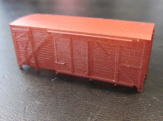 HJ bare top in N scale in Smooth Fine Detail Plastic