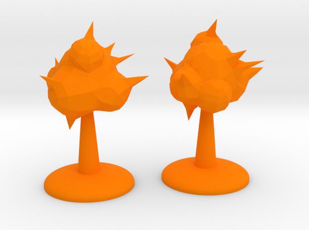 ! - Explosion Phenomenon Terrain in Orange Processed Versatile Plastic