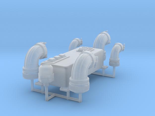 1:8 BTTF DeLorean interior bulkhead set in Smoothest Fine Detail Plastic