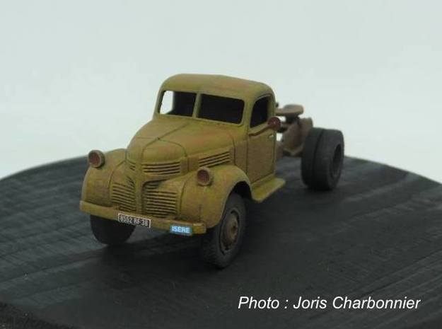 Dodge semi tractor 1940 - Ho 1:87 in Smooth Fine Detail Plastic
