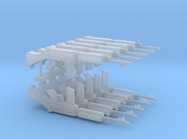L1A1RifleSetv5 in Smoothest Fine Detail Plastic