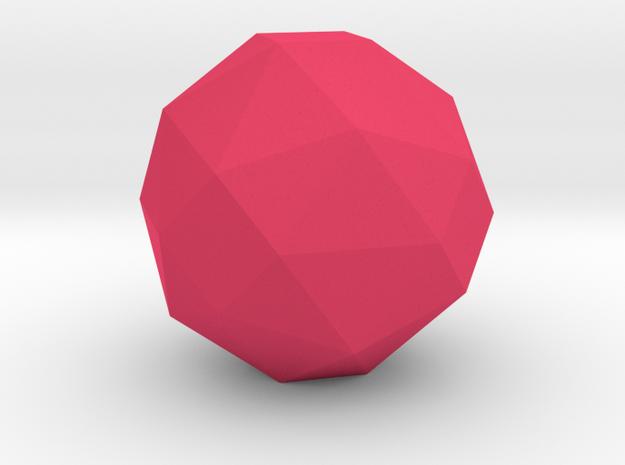 geommatrix 72mm f54 polyhedron in Pink Processed Versatile Plastic
