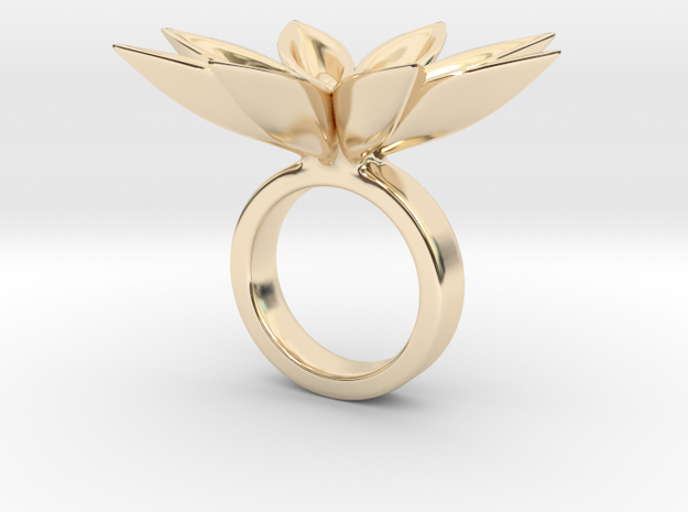 Floachi small - Bjou Designs in 14k Gold Plated Brass