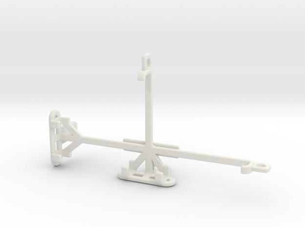 Xiaomi Redmi Go tripod & stabilizer mount in White Natural Versatile Plastic