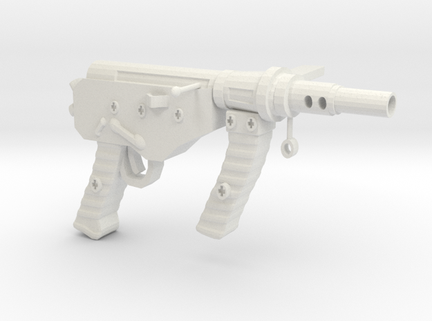 OstinMK2AustralianSMG1C in White Natural Versatile Plastic