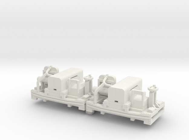 a-87-20hp-simplex-1a in White Natural Versatile Plastic