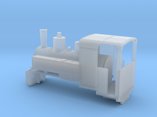 B-1-160-decauville-8ton-060-open-1a in Smooth Fine Detail Plastic