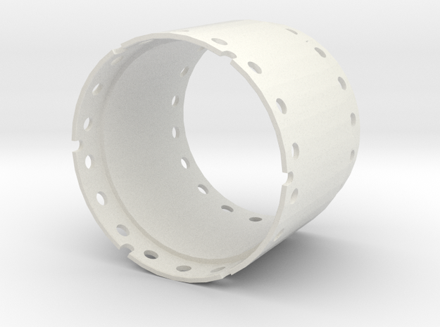Casing joint 1500mm, length 1,00m in White Natural Versatile Plastic
