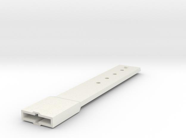 NZG casing oscillator extension in White Natural Versatile Plastic