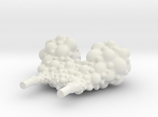Car Smoke in White Natural Versatile Plastic