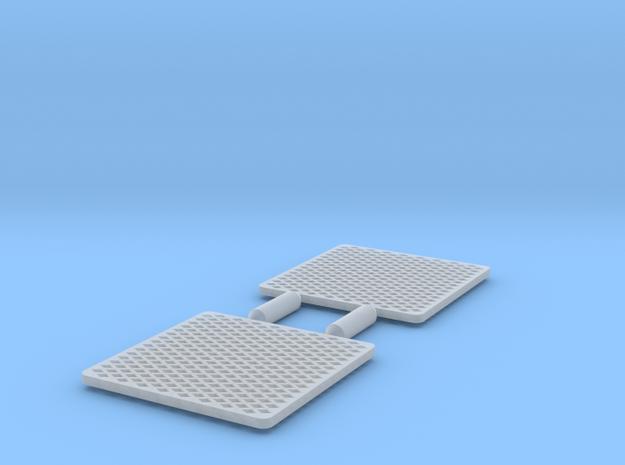 1:32 Scale EMD F7 Winterization Hatch Screen  in Smoothest Fine Detail Plastic