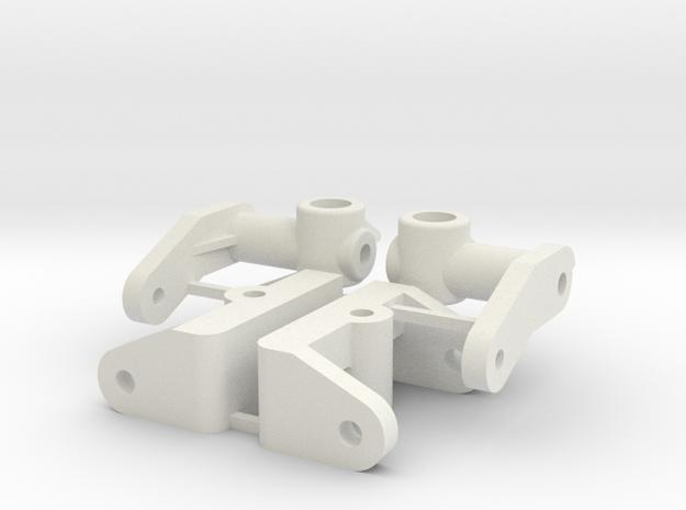 Reborn91, CASTER BLOCKS in White Natural Versatile Plastic