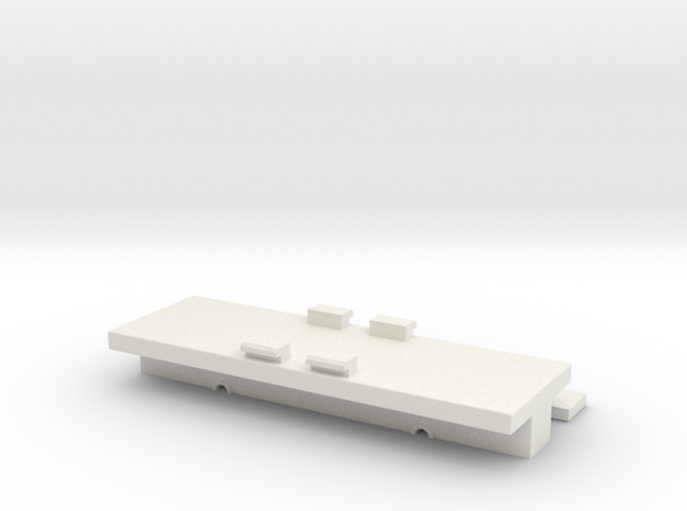 Dummy 11-109 / 11-110 / 11-103 / 104 in White Natural Versatile Plastic