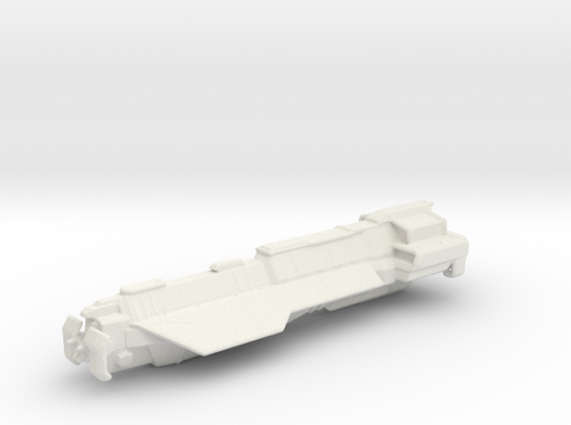 Athens Class Carrier in White Natural Versatile Plastic