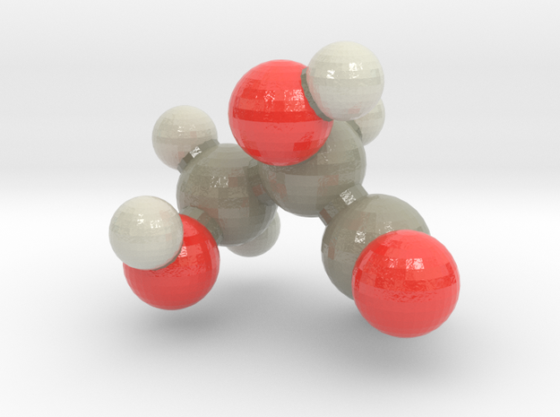glyceraldehyde in Glossy Full Color Sandstone