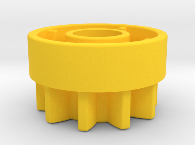 10Z  Clutch in Yellow Processed Versatile Plastic