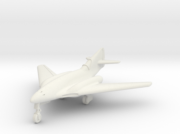 (1:144) Messerschmitt Me 262 HG III/3 in White Natural Versatile Plastic