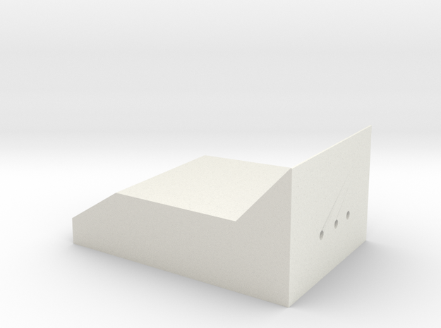 ROTJ Rangefinder Clear Part in White Natural Versatile Plastic