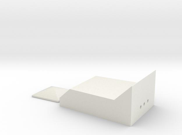ESB Rangefinder Clear Parts in White Natural Versatile Plastic