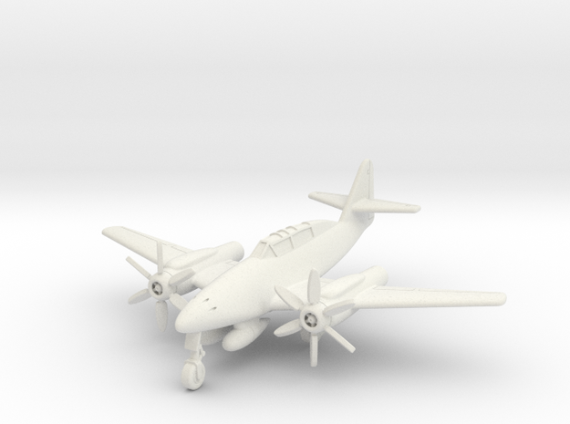 (1:144) Messerschmitt Me 262 B2 Turboprop in White Natural Versatile Plastic