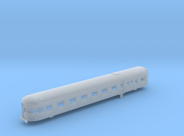 Victorian Railways Norman Parlor Car V2 - N Scale in Smooth Fine Detail Plastic