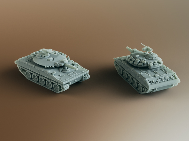 M551 Sheridan AR/AAV Scale: 1:100 in Smooth Fine Detail Plastic