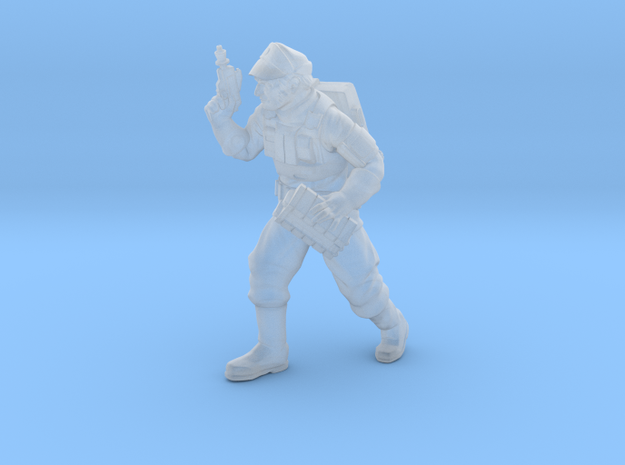 Authority Combat Medic in Smooth Fine Detail Plastic