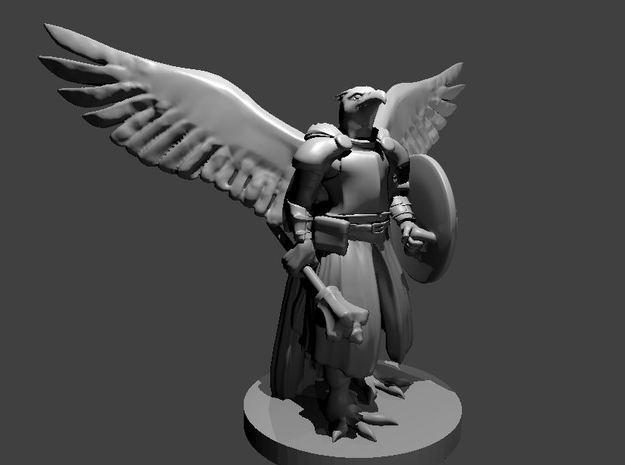 Aarakocra Cleric  in Smooth Fine Detail Plastic