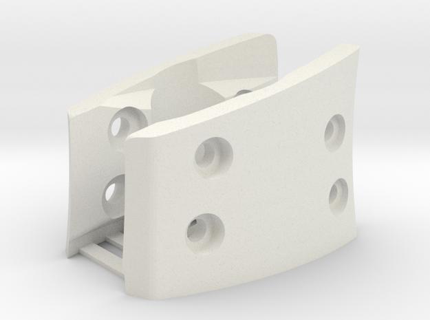 G930,G430,G230 (L&R Inside Bracket Joined) in White Natural Versatile Plastic