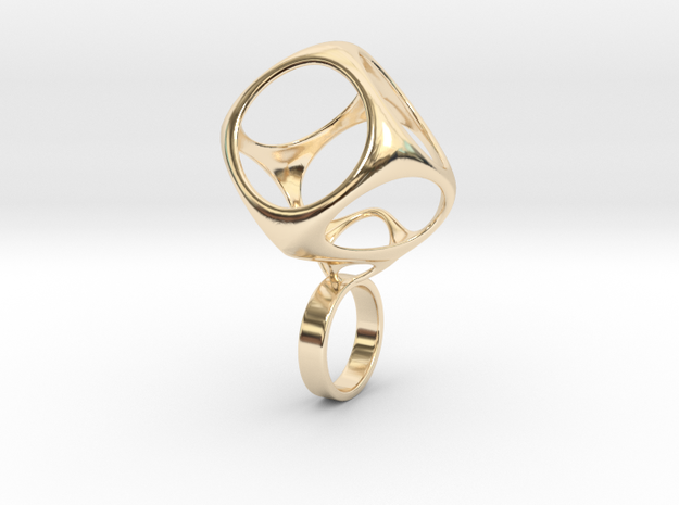 Curacapa in 14k Gold Plated Brass