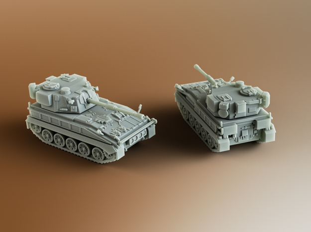 FV433 Field Artillery Abbot Scale: 1:200 in Smooth Fine Detail Plastic
