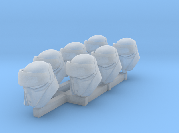 BeachTrooper Heads in Smoothest Fine Detail Plastic