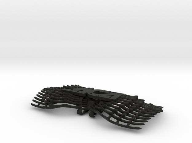 Bow tie part 1 base. ACA in Black Natural Versatile Plastic