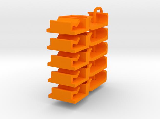 PS8000201_5 Leitplankenhalter in Orange Processed Versatile Plastic