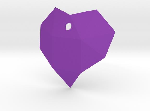 f11, f134 heart gmtrx in Purple Processed Versatile Plastic