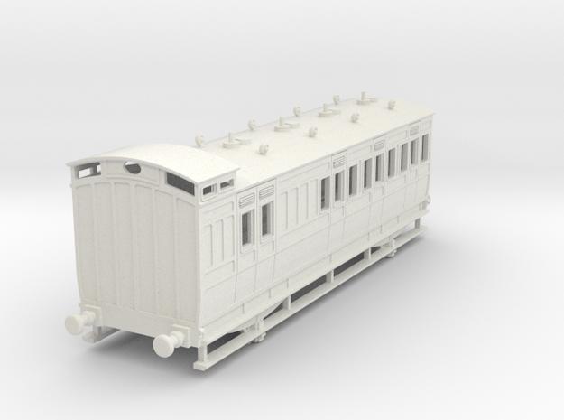 0-64-ner-n-sunderland-brake-2nd-coach in White Natural Versatile Plastic