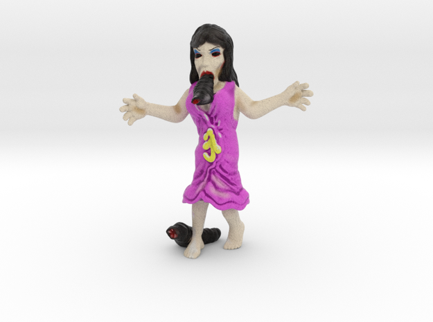 Leech Woman in Natural Full Color Sandstone