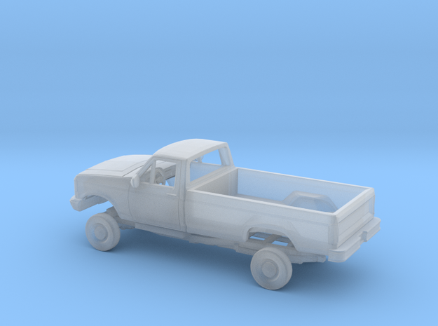 1/87 1987-91 Ford F Series Single Cab Long Bed Kit in Smooth Fine Detail Plastic