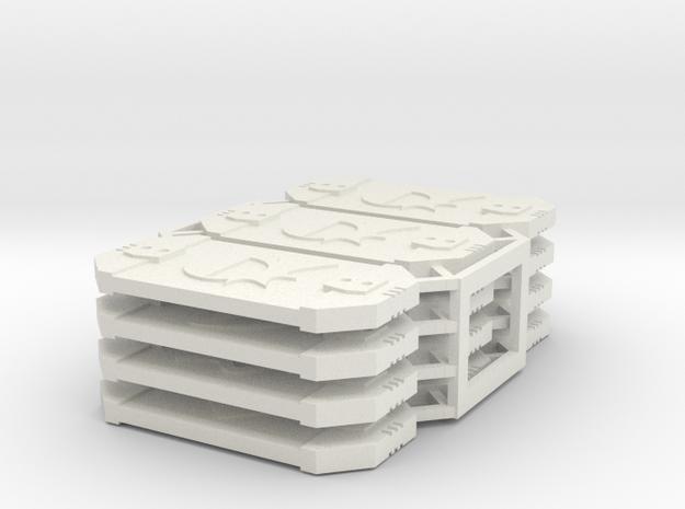 Star Wars Armada Defense Tokens in White Natural Versatile Plastic