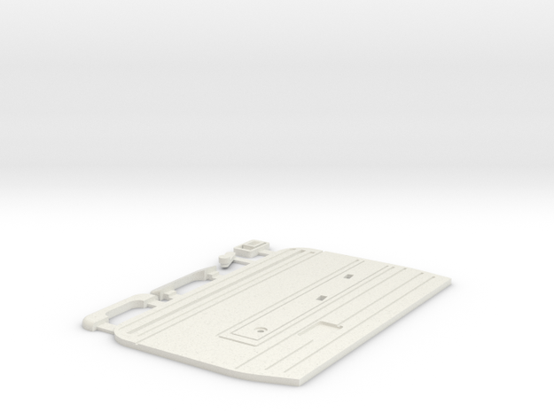 Tamiya Bruiser / HG P407 TOYOTA Hilux door panel L in White Natural Versatile Plastic