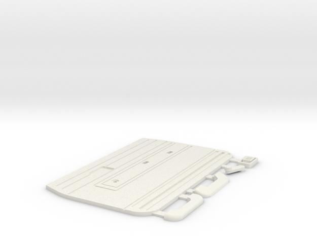 Tamiya Bruiser / HG P407 TOYOTA Hilux interior com in White Natural Versatile Plastic
