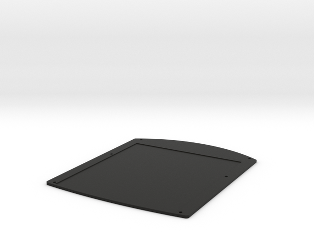 Character Sheet PADD for STA Middle Section in Black Natural Versatile Plastic