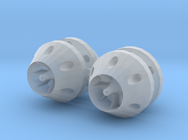 1/24 - 1/25 anti grav thrusters (small) in Smooth Fine Detail Plastic