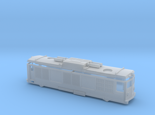 RhB Gem 4/4 in Smooth Fine Detail Plastic: 1:150