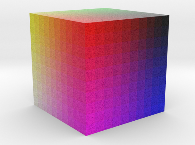 Color cube in Full Color Sandstone