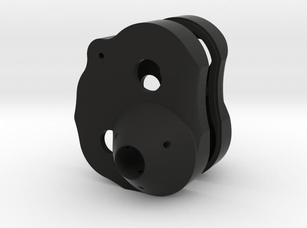 Berg Rear Case in Black Natural Versatile Plastic