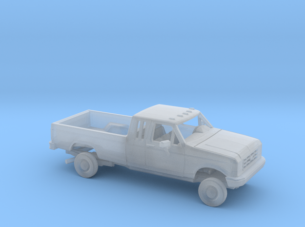 1/160 1987-91 Ford F-Series Ext. Cab Reg Bed Kit in Smooth Fine Detail Plastic