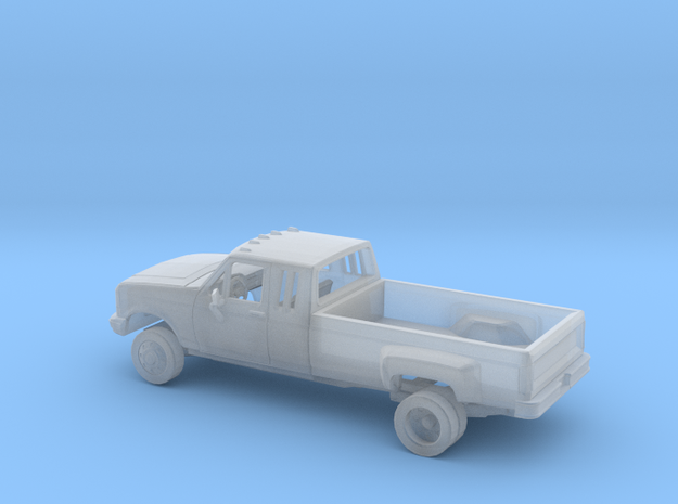 1/160 1987-91 Ford F-Series Ext. Cab Dually Kit in Smooth Fine Detail Plastic