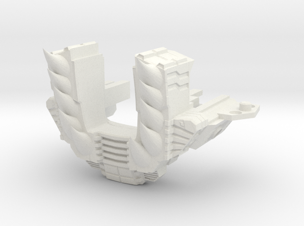 Volcanicus Chest Upgrade by 4ever_evil in White Natural Versatile Plastic